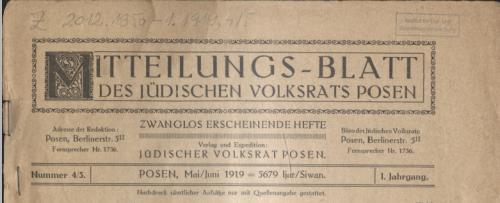 mitteilungsblatt