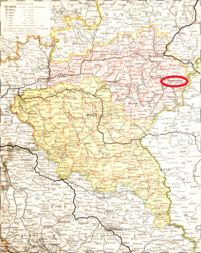 Karte-Inowroclaw